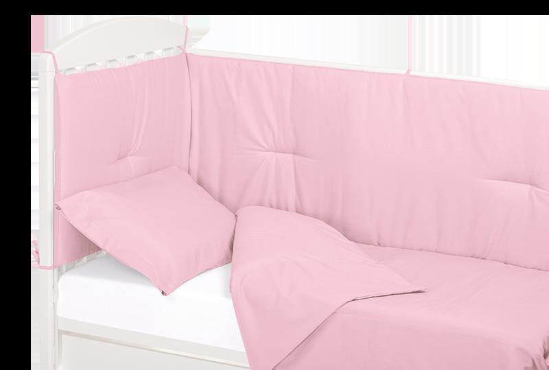 Piumone+paracolpi rosa